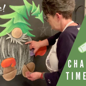 Chalk Your WALL! #34 - Holiday Gnome