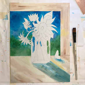 Behind the Scenes: Sunflowers! & Why Art Licensing