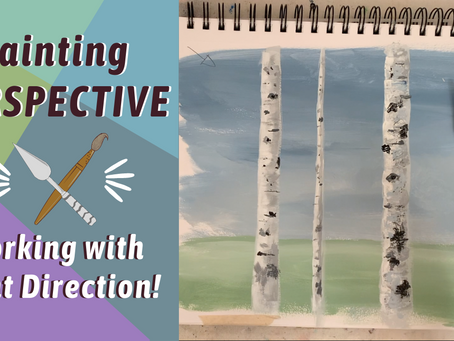 ACRYLIC PAINT CLASS! Painting Aspen Birch Trees! Art Tips and Tricks! By: Annie Troe