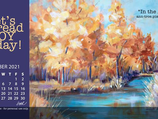 Free OCTOBER 2021 Wallpaper!