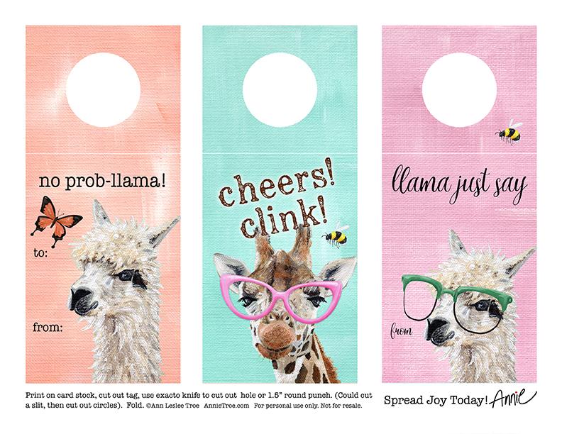 llamaGiraffeCheers