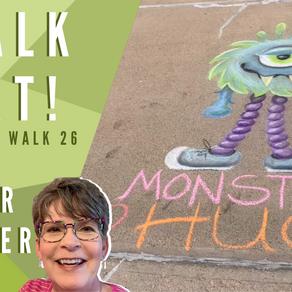 Chalk Your Walk! #26 - Flower Monster!
