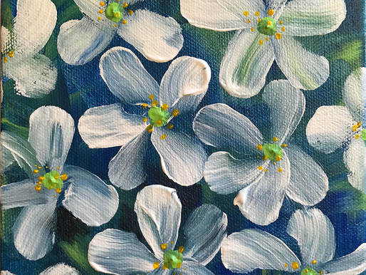 Art for Fun! - How to Paint Filbert Flowers