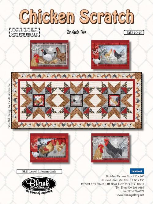 Chicken Scratch_Table Set_Pattern_11292017_Cover