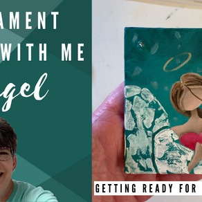 Ornament Painting! - Angel!
