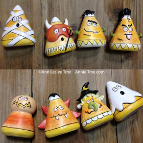 Help Me Find My Candy Corn Figurines!