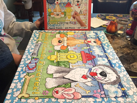 2-Sided Coloring Puzzle Giveaway!