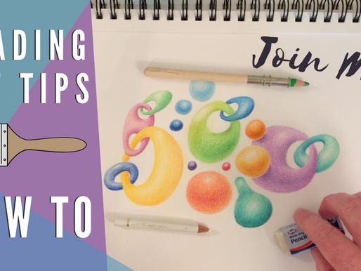 Shading Tips Art Class!