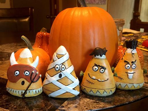 Halloween Candy Corn Figurines Giveaway!