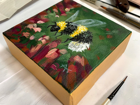 Monthly Painting Demos at The Grove Gallery - Free Stuff