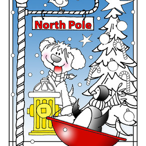NEW FREE Coloring Page! - Christmas