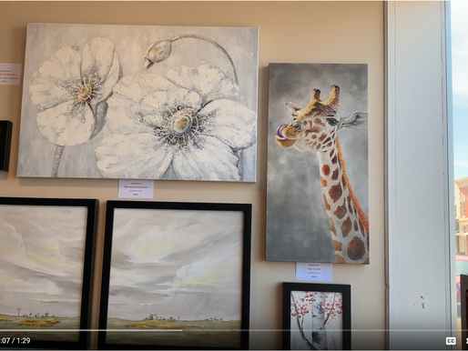 New Spot in The Grove Gallery! Quick Video for my Dad :)