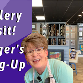 Gallery Visit! Ginger's Hang Up!
