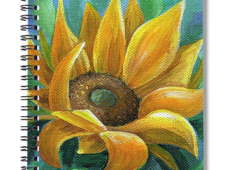 Behind the Scenes Sunflower Painting