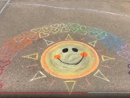 4th Chalk Your Walk Effort - Big Weather Swing