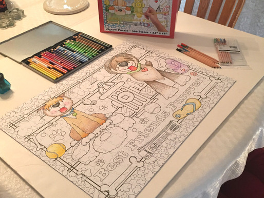 Easy to Color Puzzle