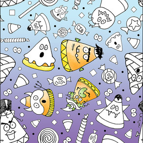 NEW FREE Coloring Page! - Halloween