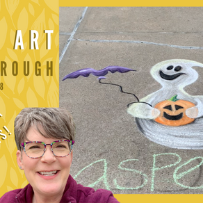 Chalk Your Walk! #28 - Ghost!
