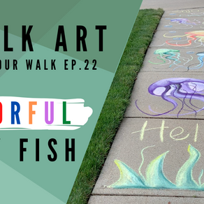 Chalk Your Walk! #22 - Jelly Fish!