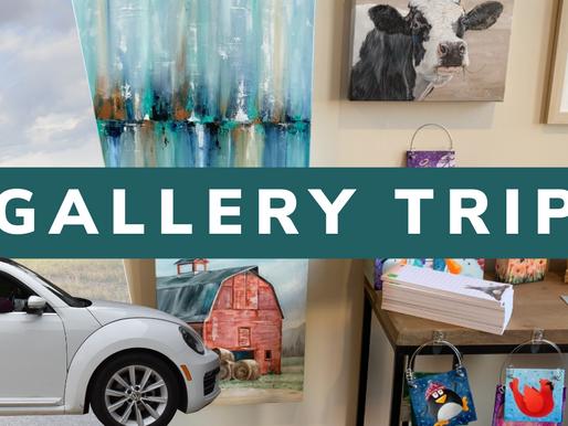Gallery Road Trip - New Art!