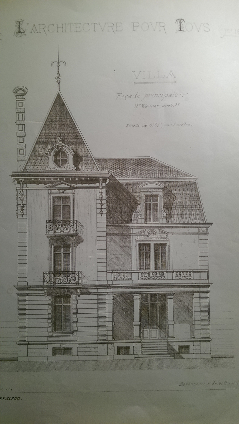The Villa, A French building from the 1900's