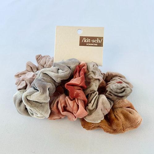 Tie Dye Scrunchies - Rust