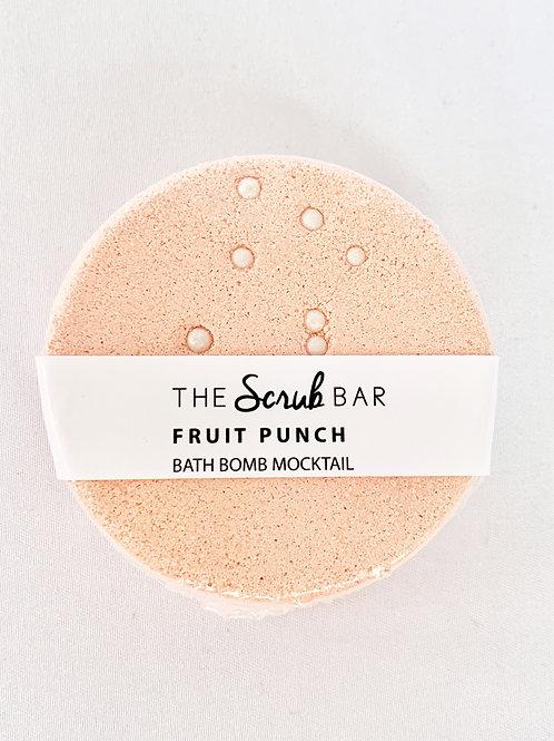 Fruit Punch Mocktail Bath Bomb