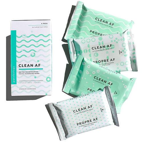 Clean AF Facial Cleansing Wipes