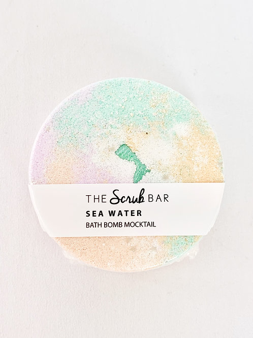 Sea Water Mocktail Bath Bomb