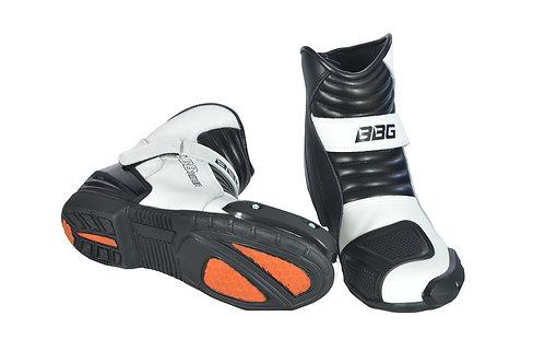 BBG Riders Boots - White