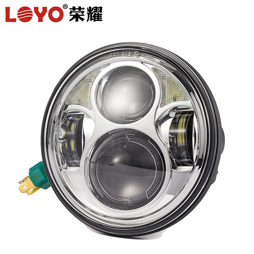 Loyo 40W 5 3/4 inch 5.75 inch round motorcycle harley led headlight