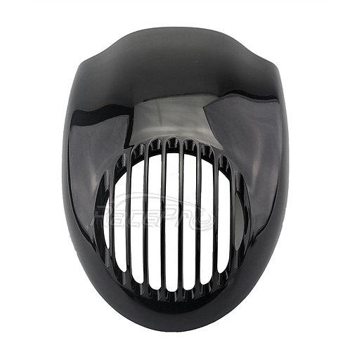 Gloss Headlight Fairing Mask Front Cowl Fork For Harley Sportster 883 FX XL Dyna
