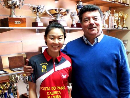 Ténis de mesa olímpico tem seis atletas que já passaram pela Ponta do Pargo