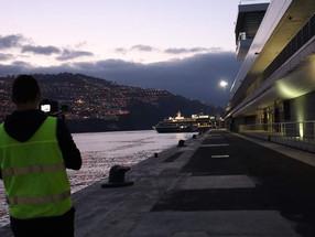 World Voyager regressou ao Funchal no segundo cruzeiro; fica 40 horas