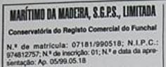 A estranha história do Marítimo da Madeira SGPS, Lda