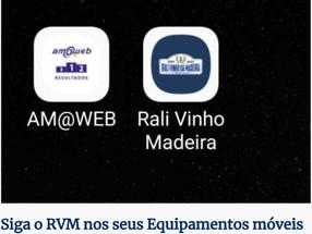 Siga o Rali Vinho Madeira ao segundo com as aplicações móveis