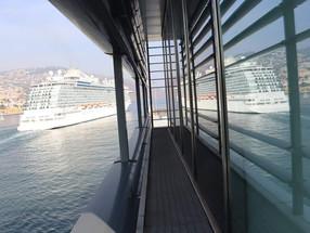 """""""Regal Princess"""" já seguiu viagem depois de 9 horas no porto do Funchal"""