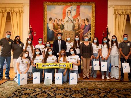 Câmara do Funchal recebe equipa vice campeã nacional