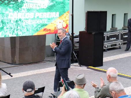 Carlos Pereira mostra Marítimo sem dívidas ao Fisco e Segurança Social
