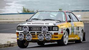 Audi Quattro A2 no Rally Madeira Legend