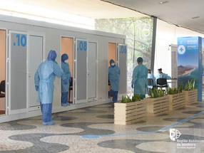 Madeira com 55 casos positivos de Covid-19 num mês