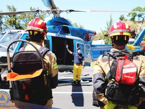 Brigada helitransportada em testes para intervir no POCIF 2021
