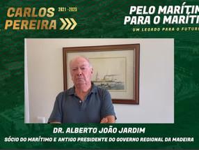 """Jardim diz que sabe: """"Foi Carlos Pereira quem salvou o Marítimo"""""""