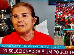 """Dolores Aveiro sem """"filtro"""" diz que Fernando Santos """"é teimoso"""""""