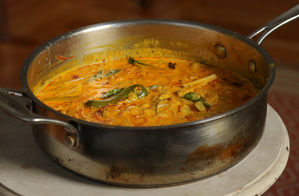 pachamaanga curry