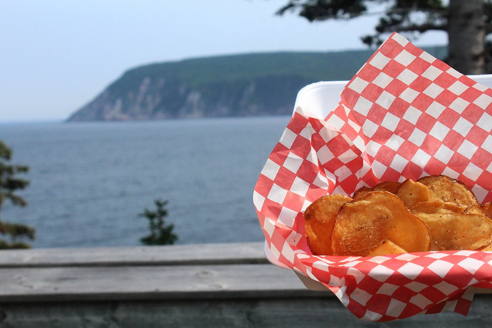 potato chips on the cabot trail