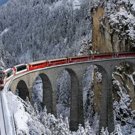 Alplerin Flipbook'u: Bernina Express