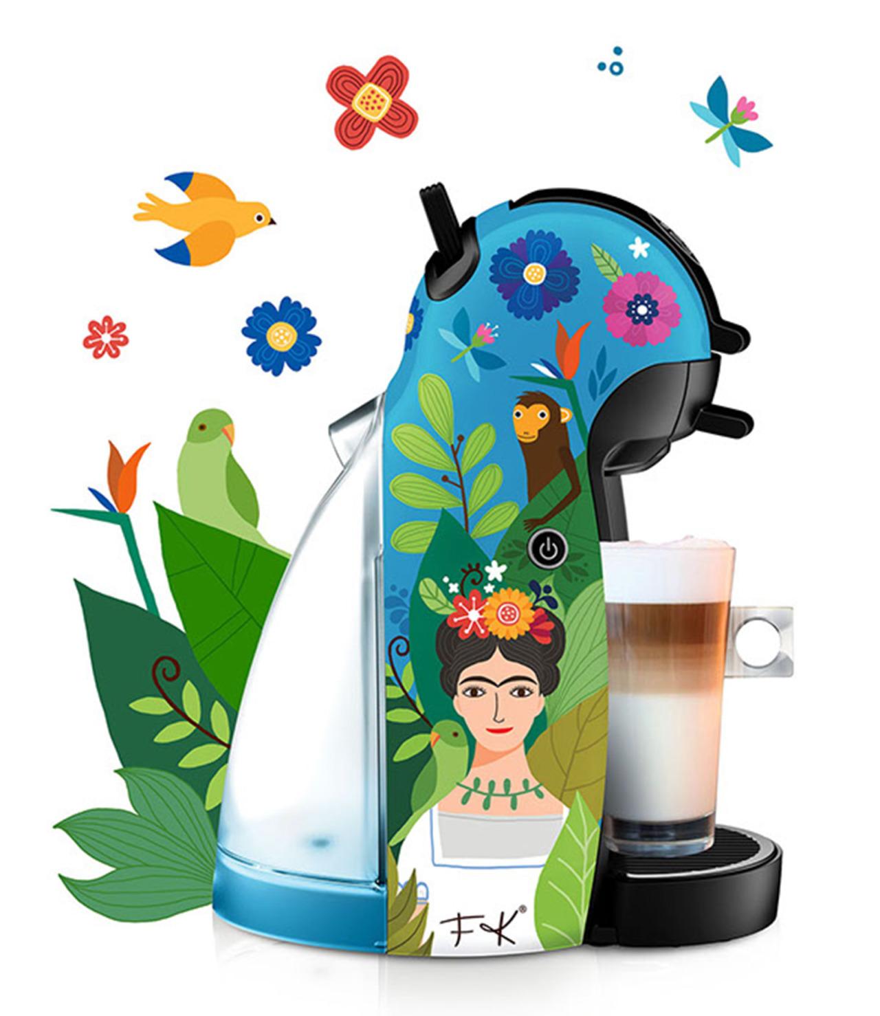 Nestlé Frida Kahlo Abuelita tazas