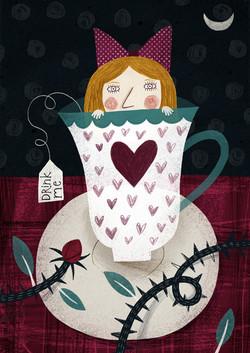 Little Alice illustration flavia