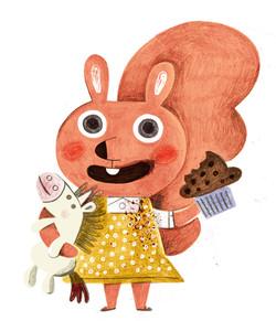 bunny squirrel book flavia